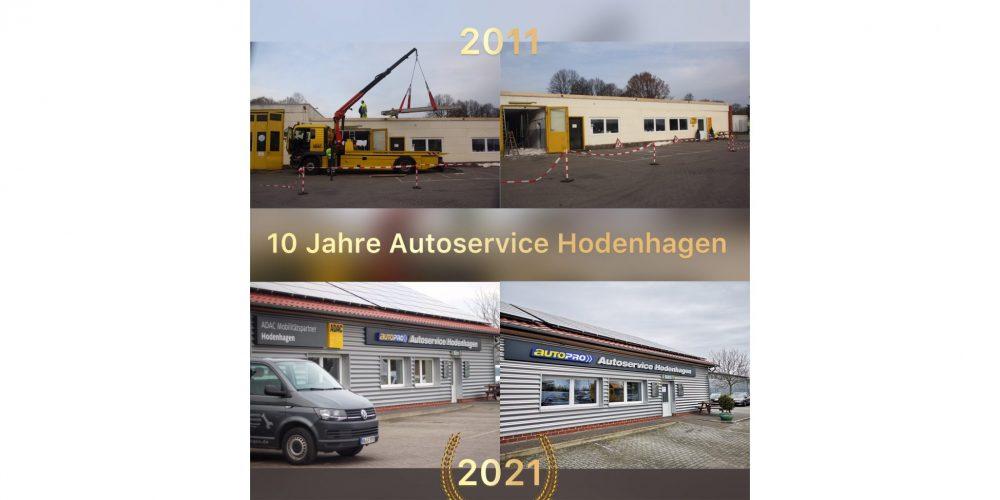 𝟭𝟬 Jahre Autoservice Hodenhagen – 𝘄𝗶𝗿 𝘀𝗮𝗴𝗲𝗻 𝗗𝗮𝗻𝗸𝗲!